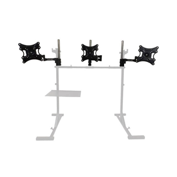 Simulator Single to Triple Monitor Stand Conversion Kit