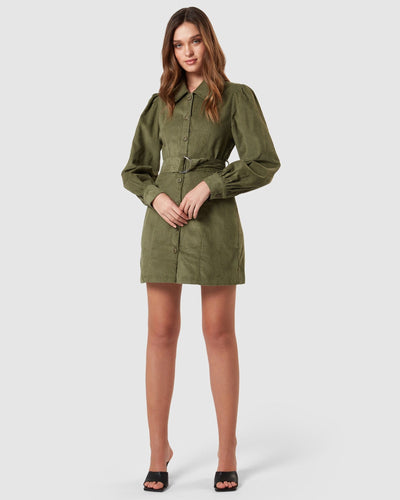 Charlie Holiday DRESSES Rogue Corduroy Dress