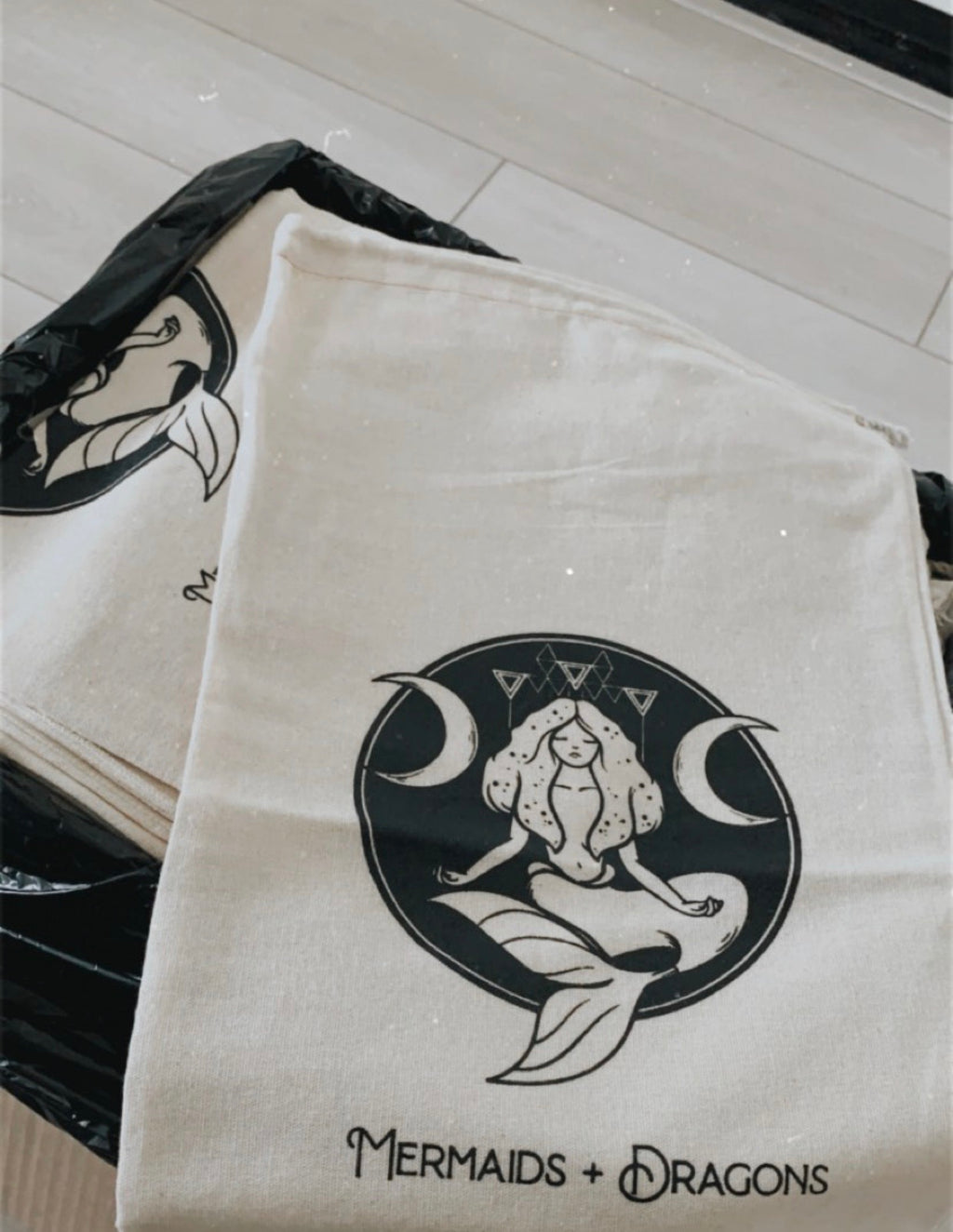 M+D ORGANIC DUSTBAG