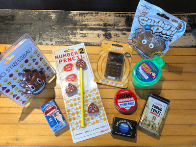 What is this Obsession we Have With Poop? -Gag Gifts and Bathroom Humor