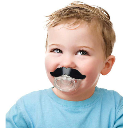 Mustache Pacifier for Babies!