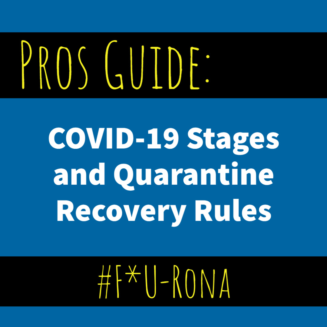 Pros Guide: COVID-19 Stages and Recovery Rules