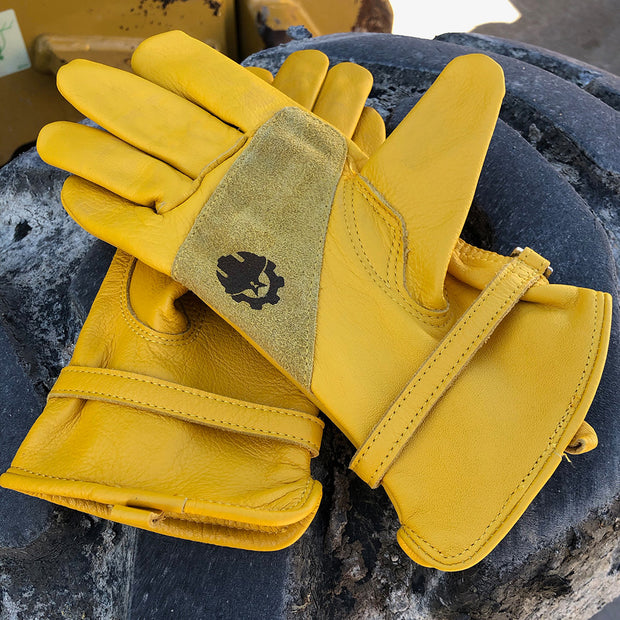 Womens Leather Work Gloves