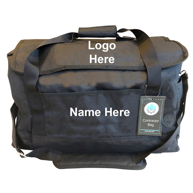 Industrial Go Bag Logo Placements