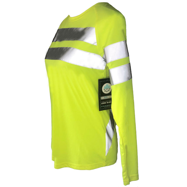 Womens Hi Vis Long Sleeve