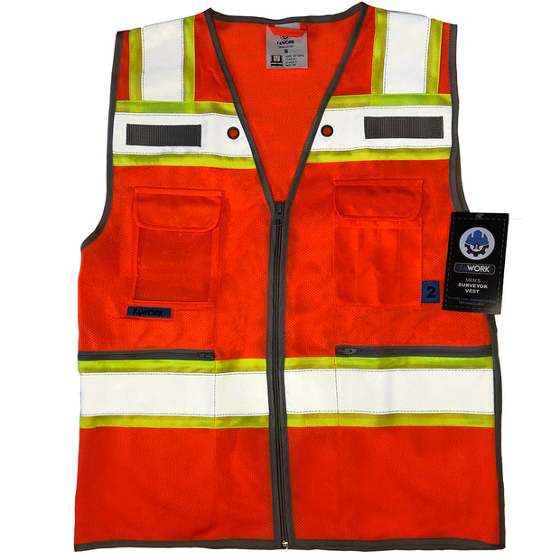 Surveyor Vest for One Operating Team - ANSI Class 2