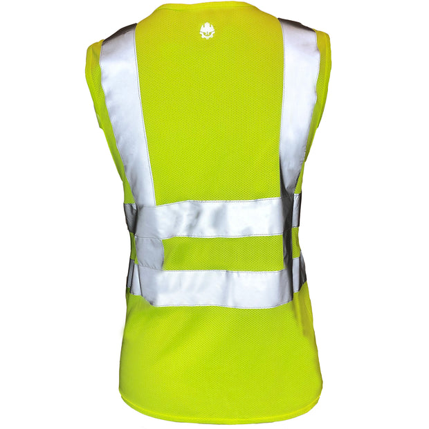 Womens ANSI Class 2 Safety Vest with Front Pockets