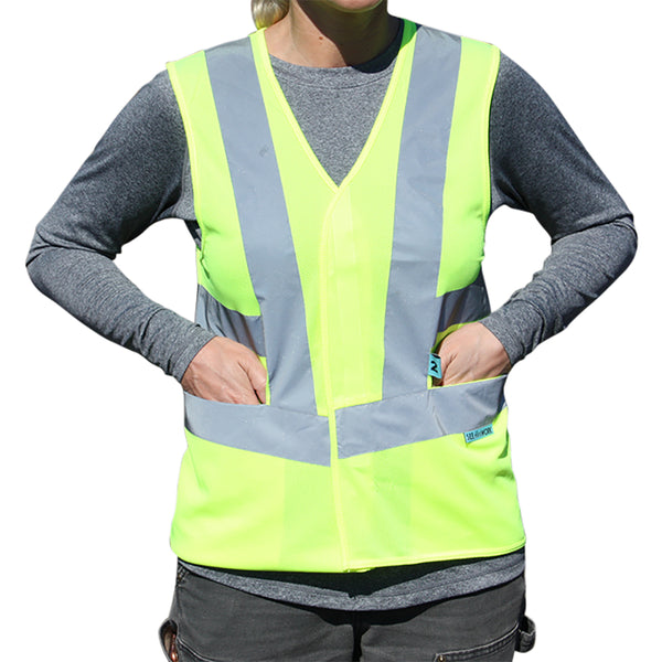 Class 2 Women's Safety Vest with Pockets