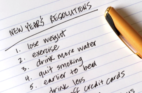 Oh How I HATE New Year's Resolutions!
