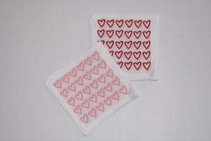 Open Heart Cocktail Napkins - Sotre Collection