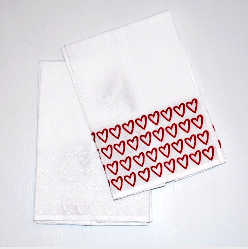 Open Hearted Guest Towels - Sotre Collection