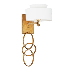 Jackie O Brass Sconce - Sotre Collection