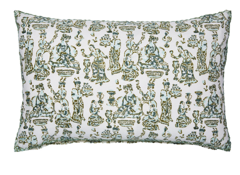 Hand-blocked Uluka Pillow - Sotre Collection