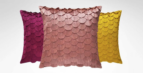 Fuchsia Ombelle Decorative Pillows - Sotre Collection