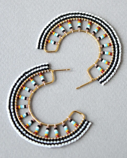 Lido Hoop Earrings - Sotre Collection