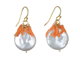 Marla Pearl Earring - Sotre Collection