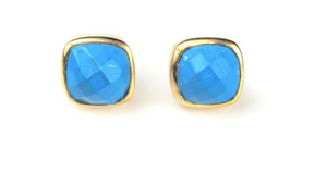 Mallorca Turquoise Stone Earring - Sotre Collection