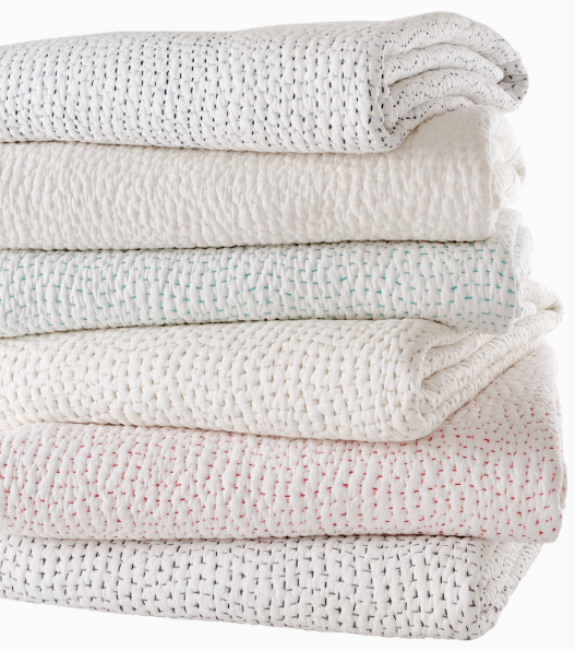 Hand Stitched Quilted Coverlets from $370 - Sotre Collection
