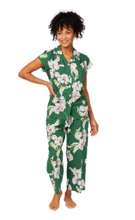 Georgia Luxe Floral Capri Pjama - Sotre Collection