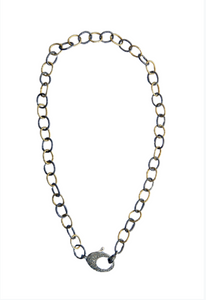 Vermeil and Sterling Short Chain - Sotre Collection