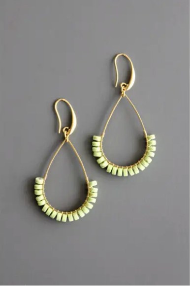 Magnesite Earrings - Sotre Collection
