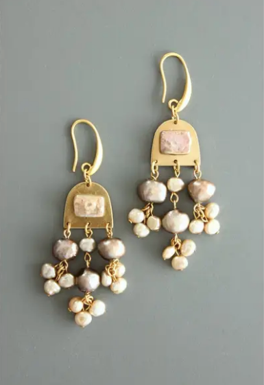 Pearl Drop Earrings - Sotre Collection