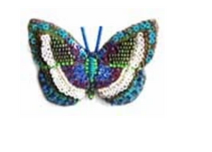 Danis Danis Butterfly Brooch Pin