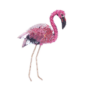 Flamingo Brooch Pin
