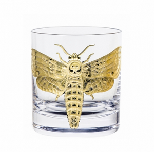 Double Old Fashioned Gilded Moths