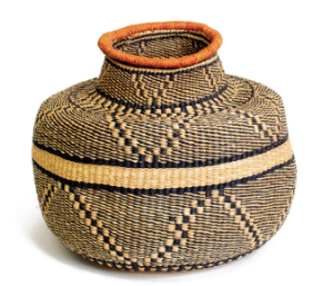 Mwiba Grass Pot