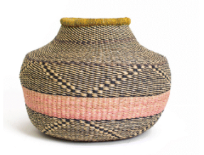 Tumaini Grass Pot