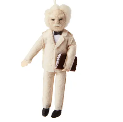 Mark Twain Felt Ornament