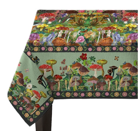Mushrooms Tablecloth