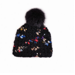 Navy Twombly Beanie