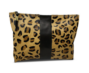 Medium Leopard Pouch