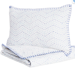 John Robshaw Baby Quilt and Boudoir (Blue)