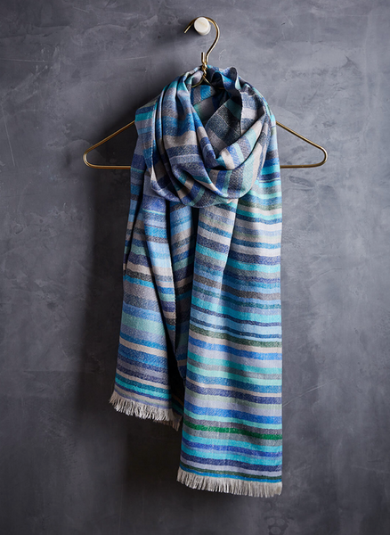 Colorful Cashmere Scarf