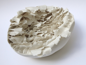 """Coquille"" Shell Porcelain Sculpture - Sotre Collection"