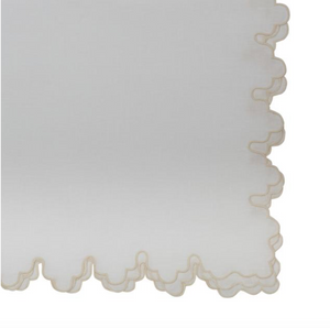 Sultan Scallop Edge Napkin - Sotre Collection