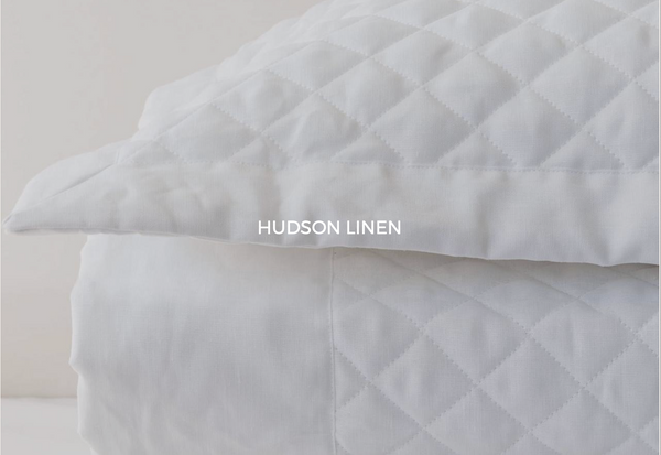 Hudson Linen Bed Skirt - Sotre Collection