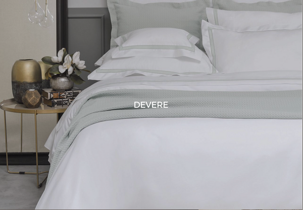 Devere Dove Queen Sheet Set - Sotre Collection