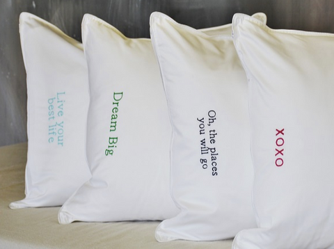 Hypo-allergenic Down Sleeping Pillows