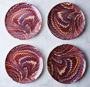 Ebu Print Melamine Plates - Sotre Collection