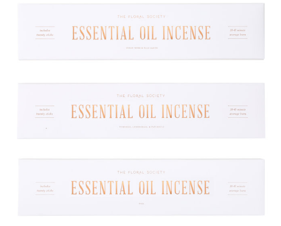 Essential Oil Incense - Sotre Collection