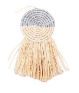Fringed Disc Ornament