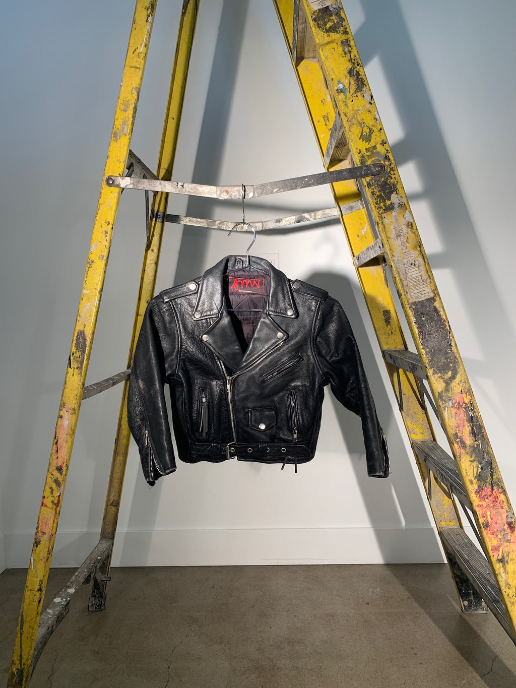 1/1 SMV MINI LEATHER MOTO JACKET