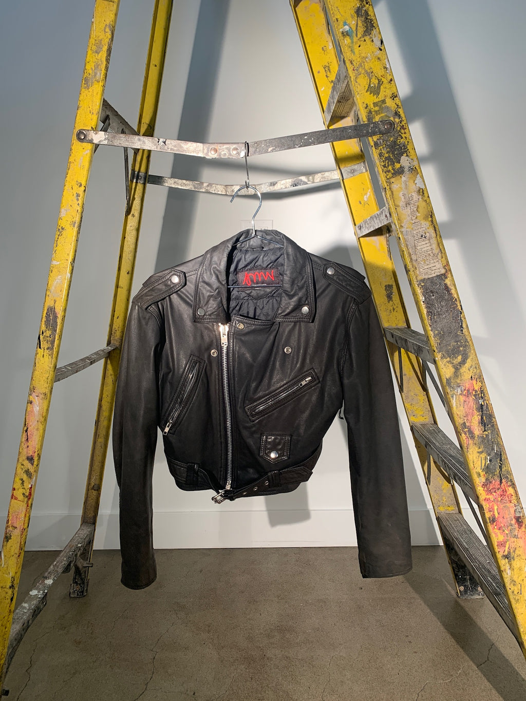1/1 SMV LEATHER MOTO JACKET #1