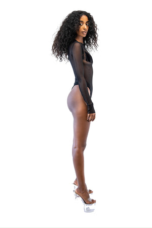O.G. BODYSUIT V2 IN BLACK VELVET