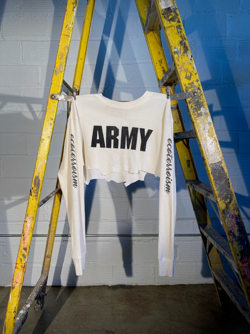 1/1 SMV CROPPED ARMY THERMAL LONG SLEEVE TEE