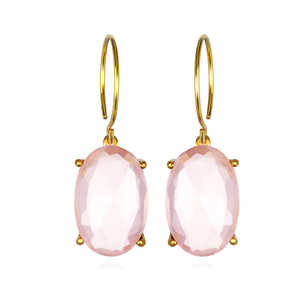 Catalina Oval-Pink Gold
